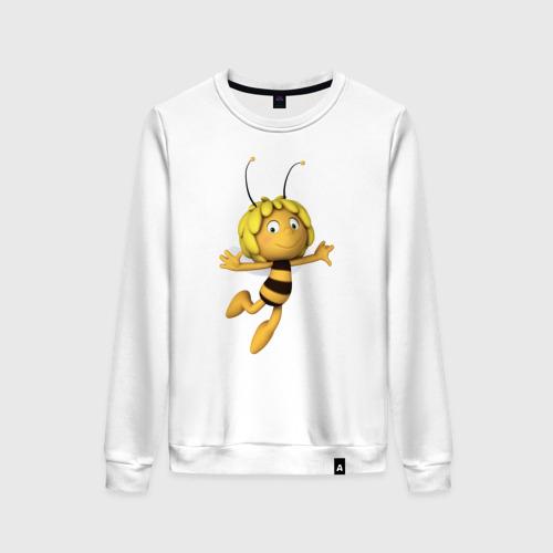 Женский свитшот хлопок пчелка Майя