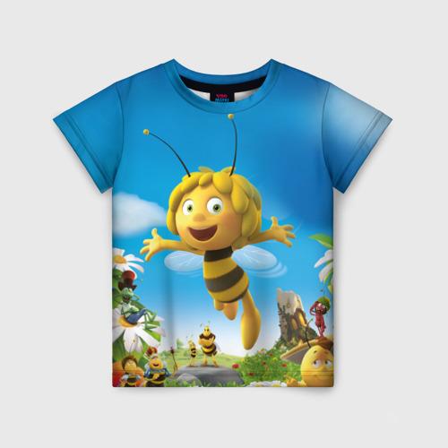 Детская футболка 3D Пчелка Майя