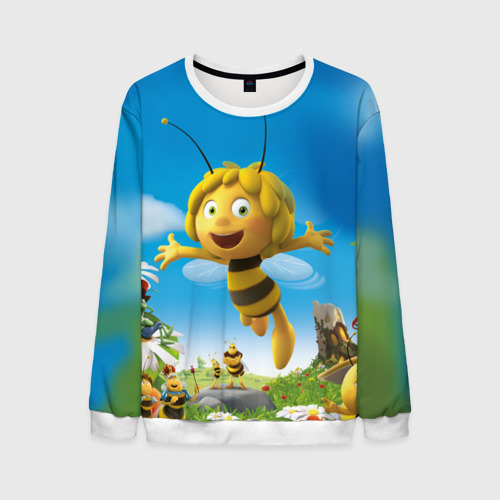 Мужской свитшот 3D Пчелка Майя