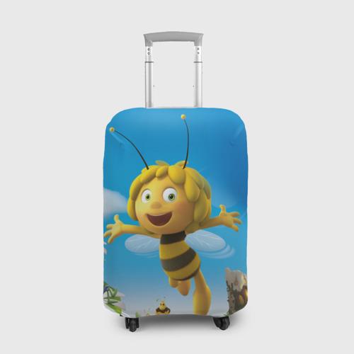 Чехол для чемодана 3D Пчелка Майя