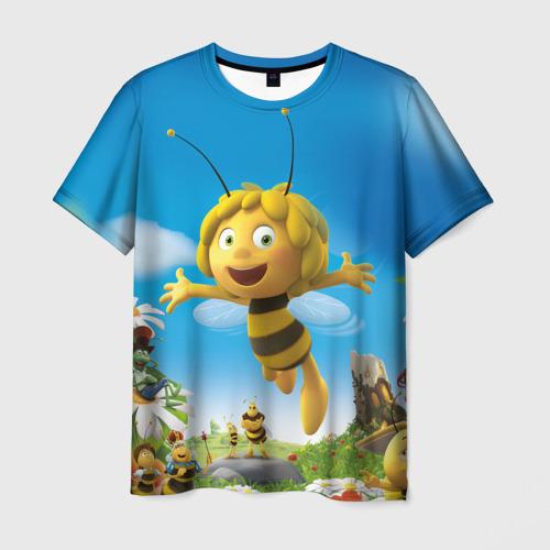 Мужская футболка 3D Пчелка Майя