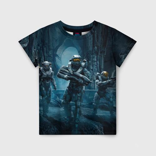 Детская футболка 3D Halo wars