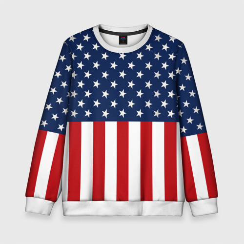 Детский свитшот 3D Флаг США