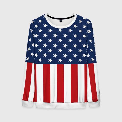 Мужской свитшот 3D Флаг США