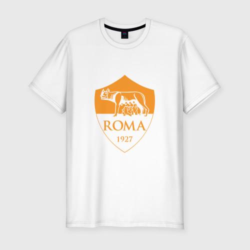 Мужская футболка хлопок Slim A S Roma - Autumn Top