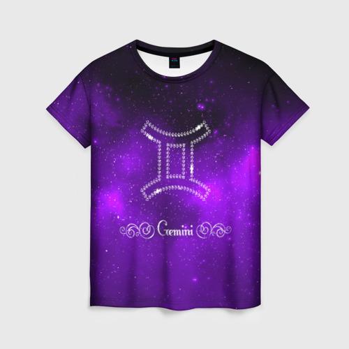 Женская футболка 3D Близнецы