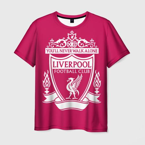 Мужская футболка 3D Ливерпуль YNWA