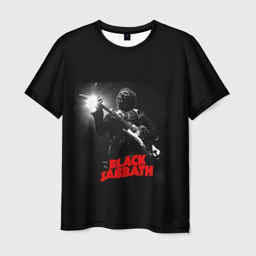 Мужская футболка 3D Black Sabbath