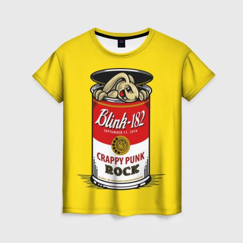Женская футболка 3D Crappy punk rock