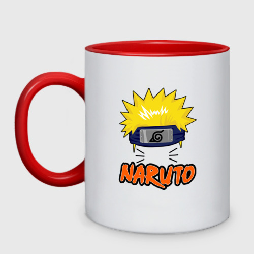 Кружка двухцветная Наруто / Naruto
