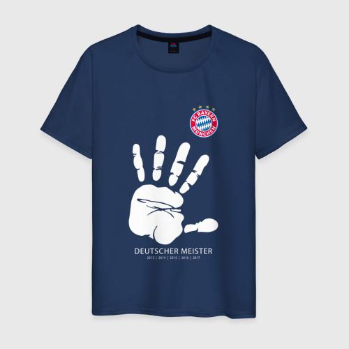 Мужская футболка хлопок Bayern Munchen - Deutcher Meister (2018 NEW)