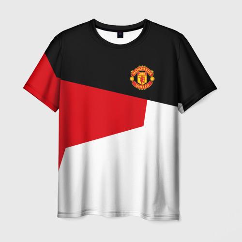 Мужская футболка 3D Manchester United 2018 12
