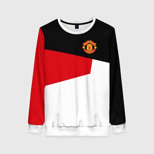 Женский свитшот 3D Manchester United 2018 12