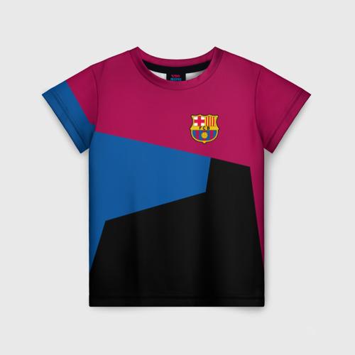 Детская футболка 3D FC Barcelona 2018 5