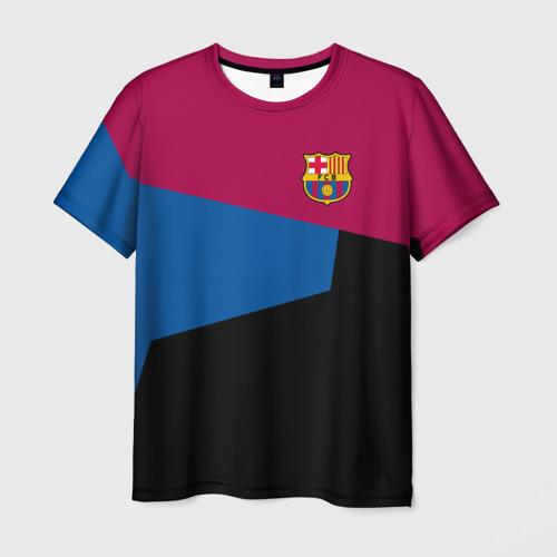 Мужская футболка 3D FC Barcelona 2018 5