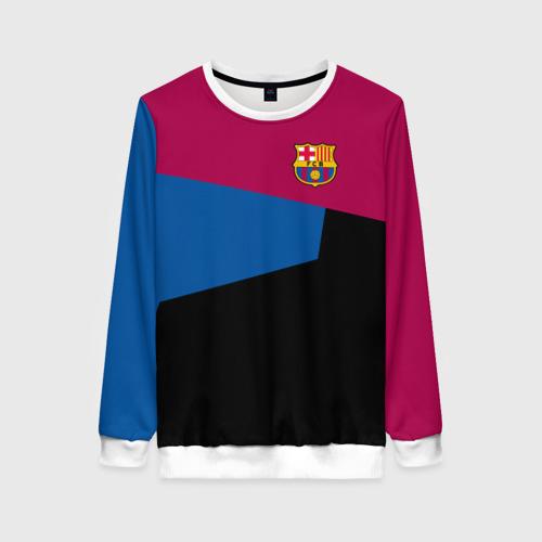 Женский свитшот 3D FC Barcelona 2018 5