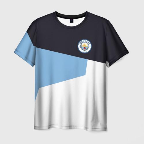 Мужская футболка 3D Manchester city 2018 4