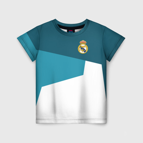Детская футболка 3D Real Madrid 2018 5