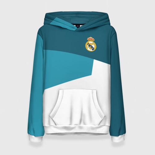 Женская толстовка 3D Real Madrid 2018 5