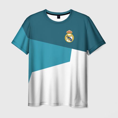 Мужская футболка 3D Real Madrid 2018 5