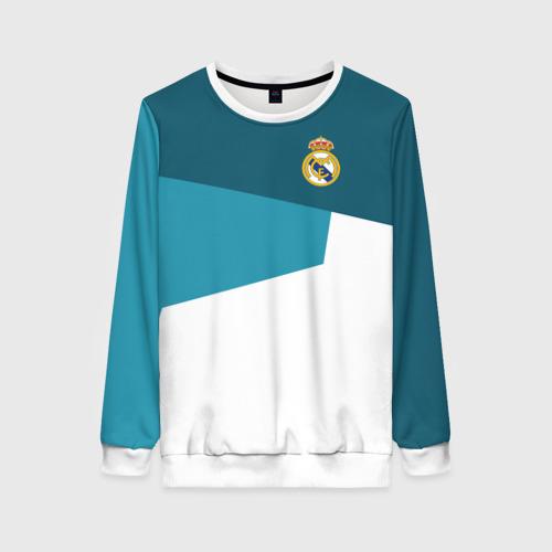 Женский свитшот 3D Real Madrid 2018 5