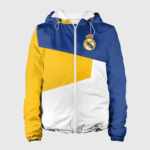 Женская куртка 3D REAL MADRID GEOMETRY SPORT
