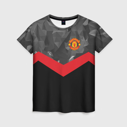 Женская футболка 3D Manchester United 2018 14