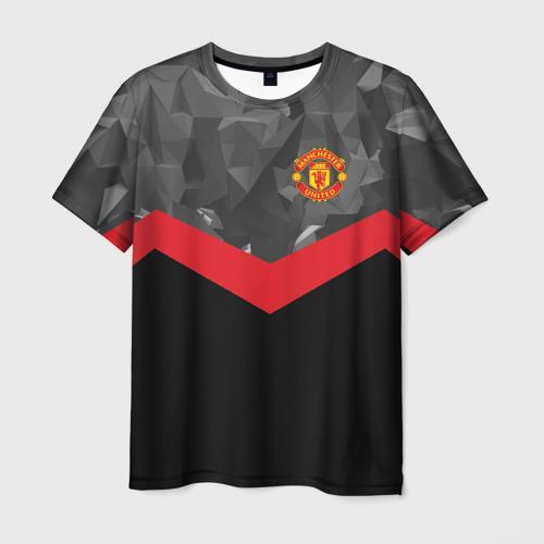 Мужская футболка 3D Manchester United 2018 14