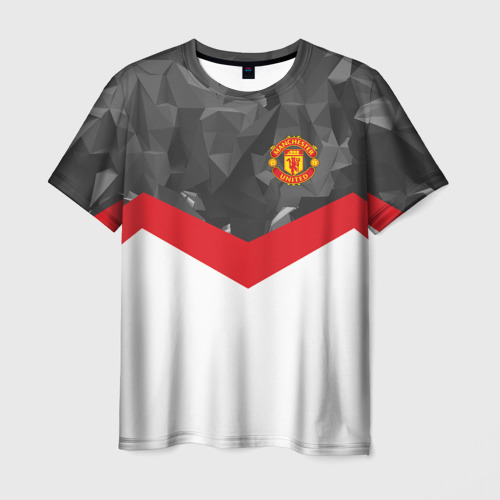 Мужская футболка 3D Manchester United 2018 16