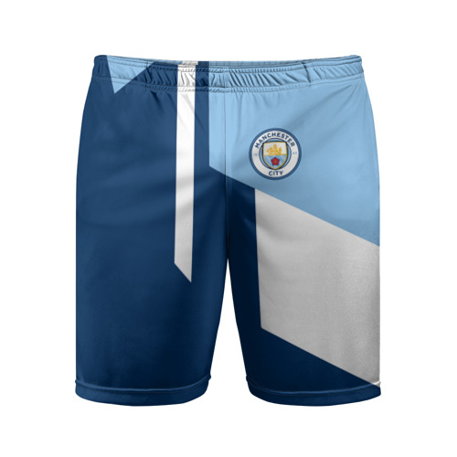 Мужские шорты спортивные Manchester city 2018 6