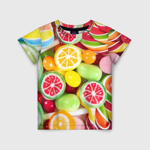 Детская футболка 3D Candy