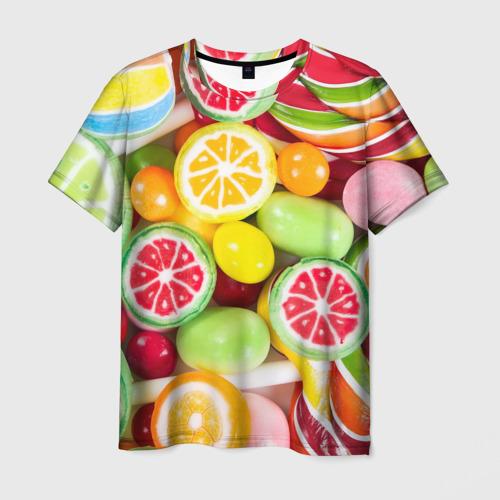 Мужская футболка 3D Candy