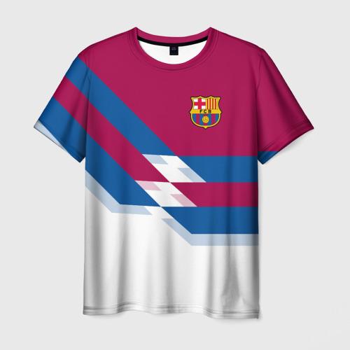 Мужская футболка 3D FC Barcelona 4