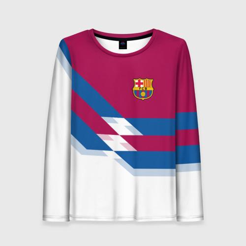 Женский лонгслив 3D FC Barcelona 4