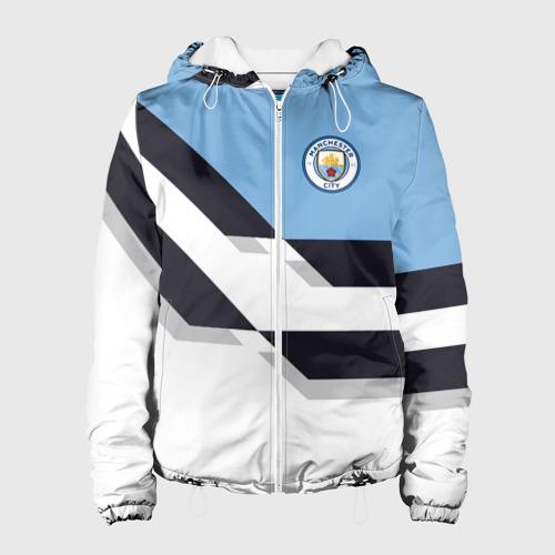 Женская куртка 3D Manchester city 2018