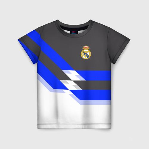 Детская футболка 3D Real Madrid 2018