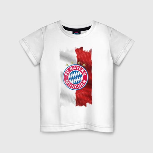 Детская футболка хлопок Bayern Munchen - Vintage style No. 3