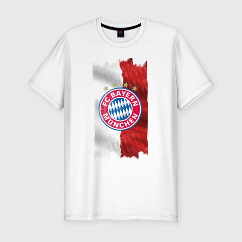 Мужская футболка хлопок Slim Bayern Munchen - Vintage style No. 3