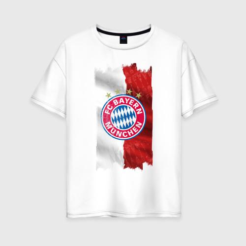 Женская футболка хлопок Oversize Bayern Munchen - Vintage style No. 3