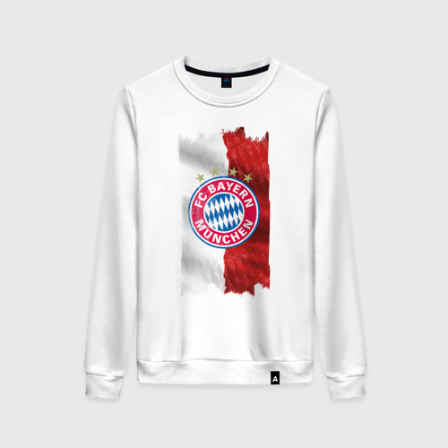 Женский свитшот хлопок Bayern Munchen - Vintage style No. 3