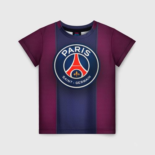 Детская футболка 3D Paris Saint-Germain