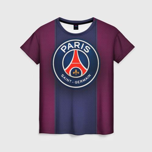 Женская футболка 3D Paris Saint-Germain