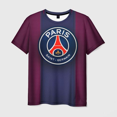 Мужская футболка 3D Paris Saint-Germain