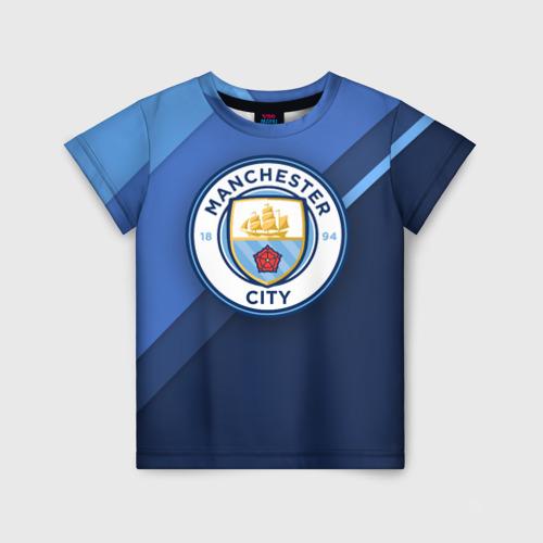 Детская футболка 3D Манчестер Сити