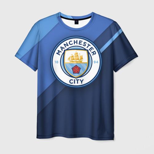Мужская футболка 3D Манчестер Сити