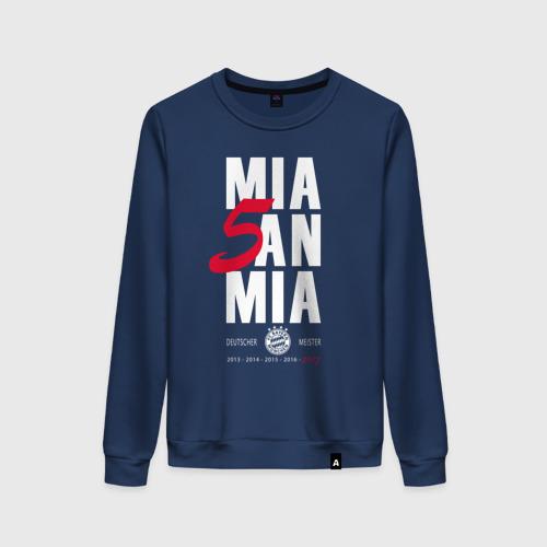 Женский свитшот хлопок Bayern Munchen - Mia San Mia