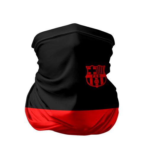 Бандана-труба 3D FC Barcelona Black Collection