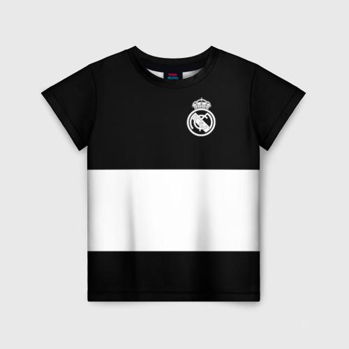 Детская футболка 3D Real Madrid Black Collection