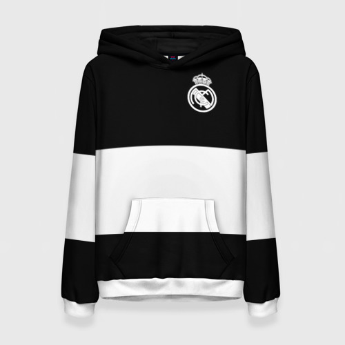 Женская толстовка 3D Real Madrid Black Collection