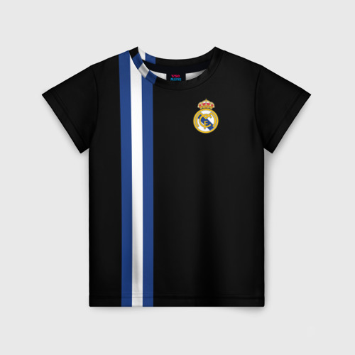 Детская футболка 3D Real Madrid Line Collection